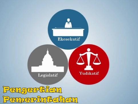 Pengertian Lembaga Legislatif, Eksekutif dan Yudikatif