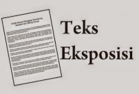 Pengertian Teks Eksposisi dan Strukturnya