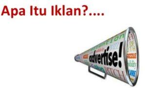 Pengertian Iklan