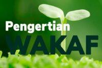 Pengertian Wakaf