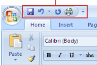 Pengertian Quick Acces Toolbar