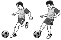 Teknik sepak bola dengan kaki bagian punggung