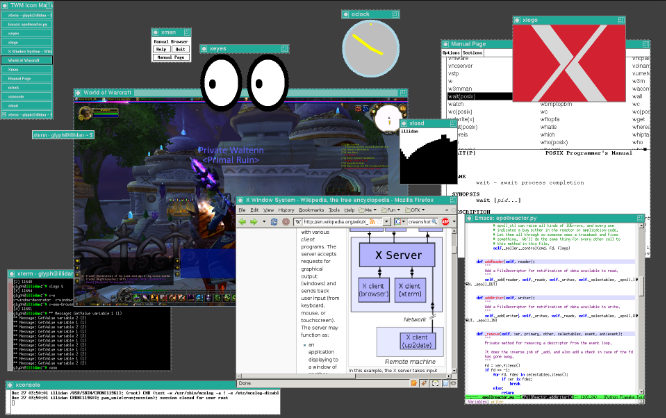 Pengertian X Window System - Sejarah dan Kelebihan X Window System